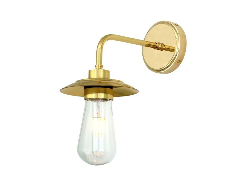 Handmade brass wall lamp for bathroom REN | Wall lamp for bathroom by Mullan Lighting