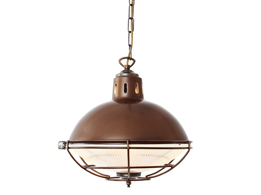 Direct light handmade pendant lamp SUSSEX CAGE INDUSTRIAL FACTORY LIGHT by Mullan Lighting