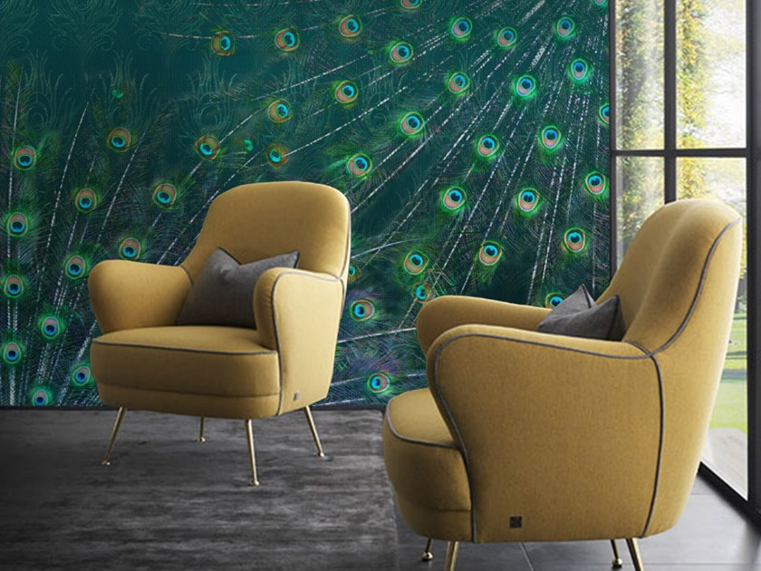 Wall tiles / wallpaper PEACOCK by Officinarkitettura®