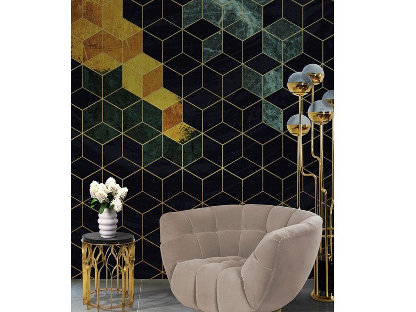 Wall tiles / wallpaper CUBES by Officinarkitettura®