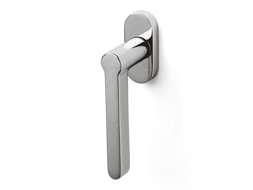 Brass window handle LOGO   Window handle by OLIVARI