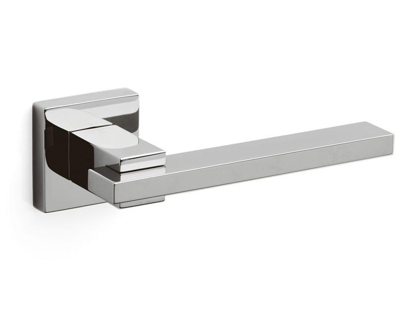Brass door handle MINERVA | Door handle by OLIVARI