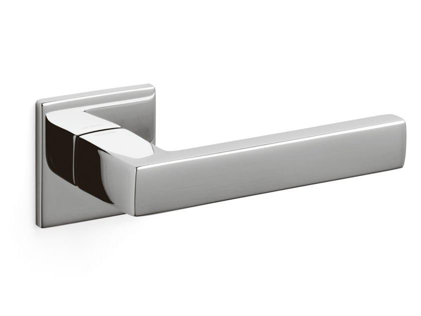 Brass door handle PLANET QB | Door handle by OLIVARI