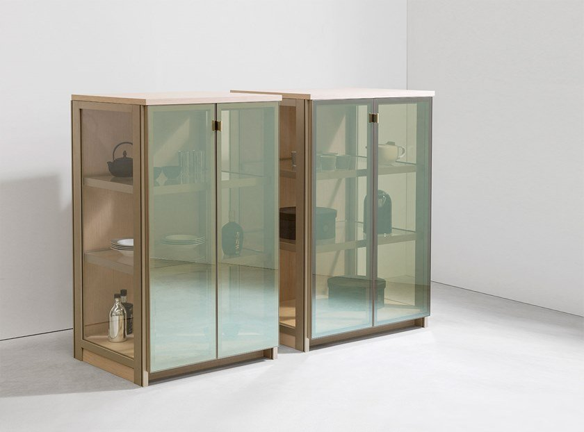 Display cabinet CRYSTAL CASE | Display cabinet by Ornare