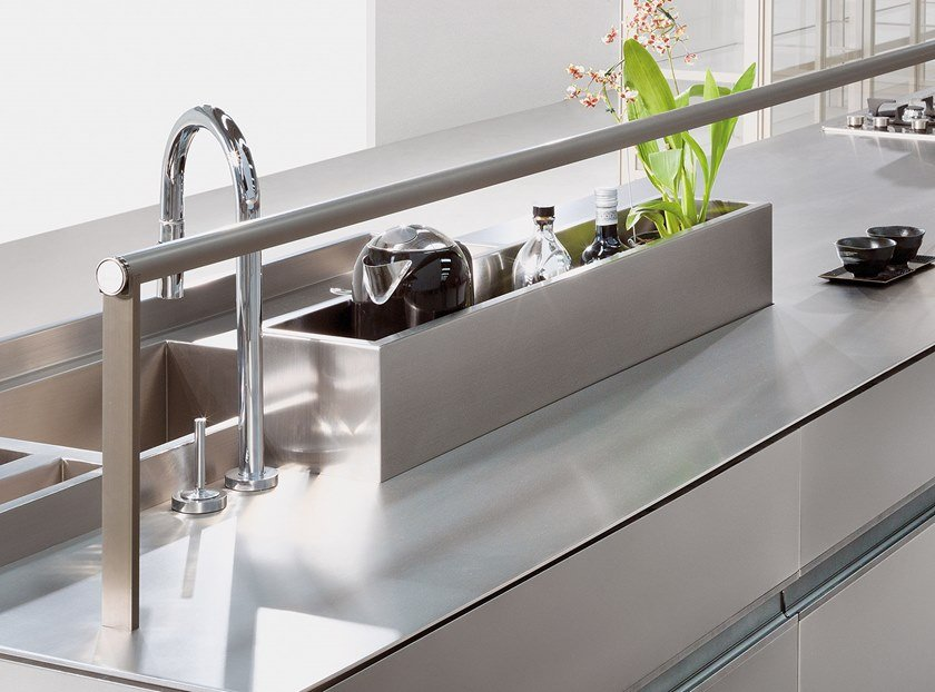 Kitchen equipped track SQUARE DIVIDER by Ornare