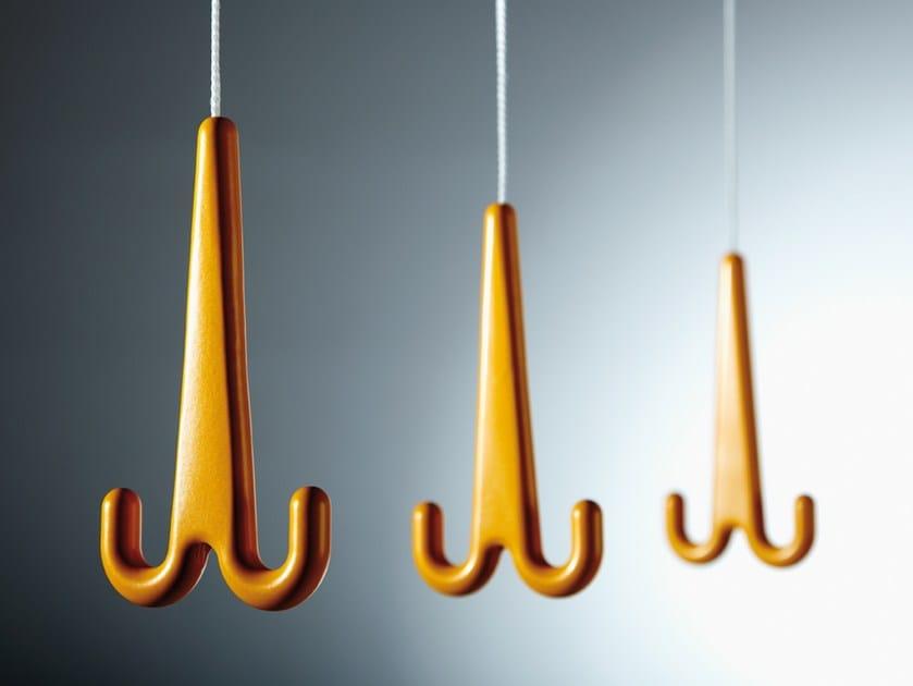 Hanging aluminium coat rack JONAS by rosconi