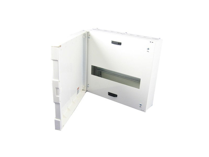 Metal distribution board 1 ROW 14 MOD DIST BOARD 335X300X111 by Garo