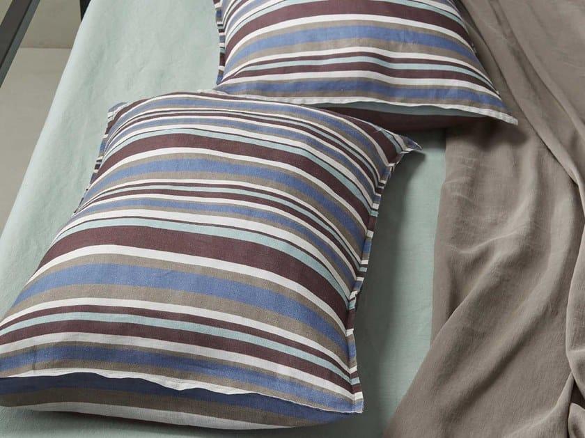 Striped cotton pillow case NAP LINE | Pillow case by Society Limonta