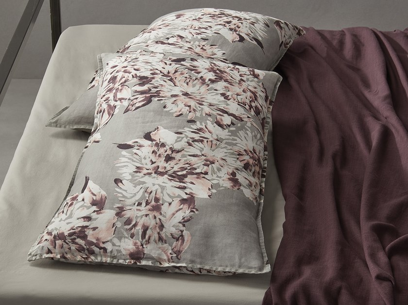 Cotton pillow case with floral pattern NAP CHIC | Pillow case by Society Limonta