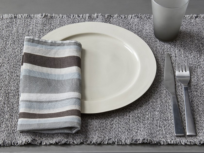 Cotton napkin NAP LINE | Napkin by Society Limonta