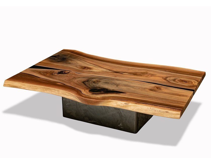 Low table European walnut low table by Tabula