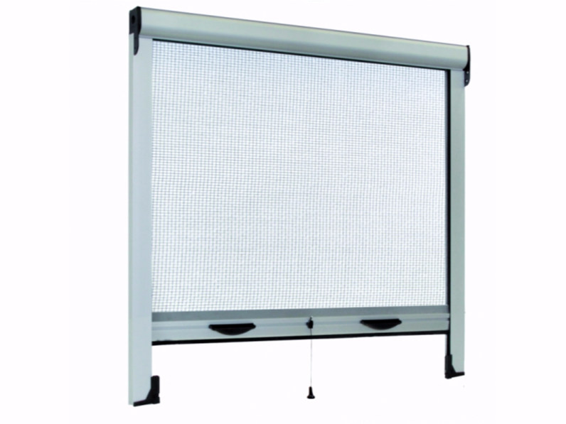 Pleated insect screen with guide system PLISSÈ DUPLEX by Teknika