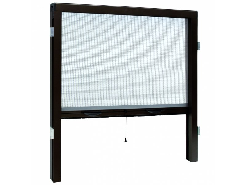 Built-in vertical insect screen VERTICAL 42 | Built-in insect screen by Teknika