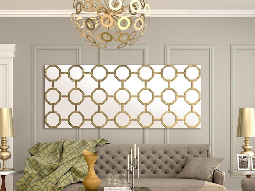 Horizontal wall-mounted aluminium panel radiator DP 00520 by Termoarredo Design