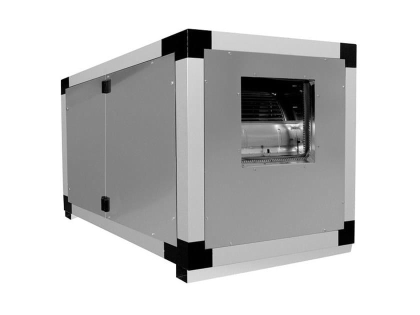 Cassa ventilante a doppia aspirazione VORT QBK POWER 9/7 1V 0,75 PV by Vortice