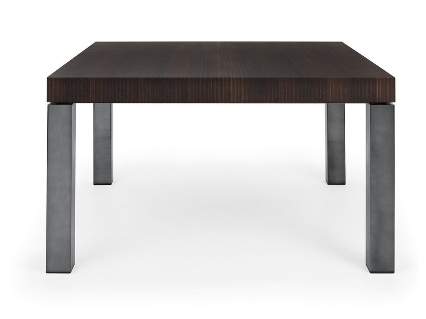 Extending wood veneer table 10 by HMD INTERIORS