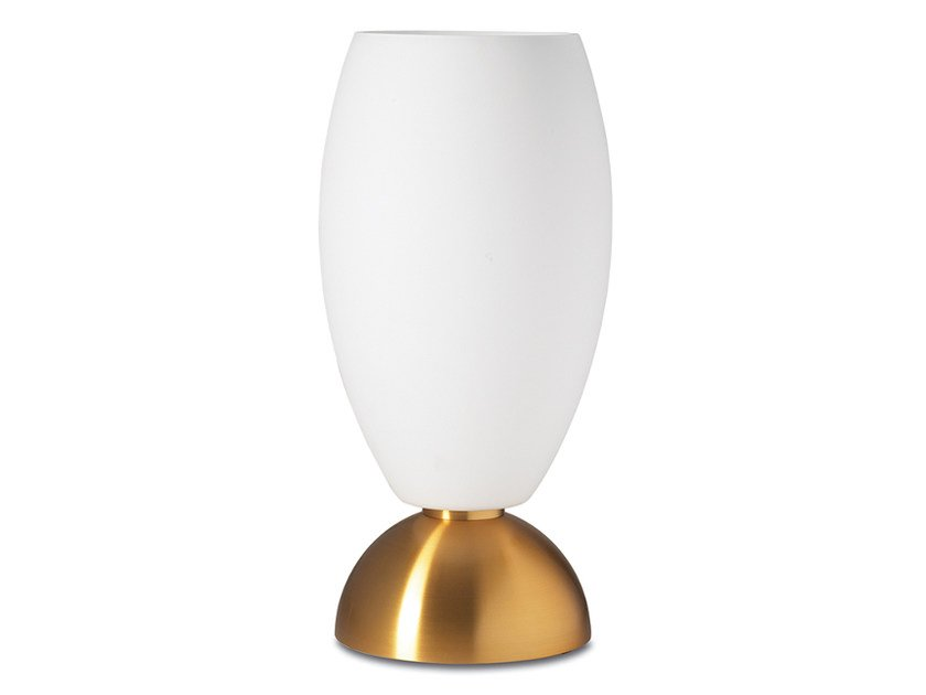 Direct light glass table lamp 1000 | Table lamp by Jean Perzel