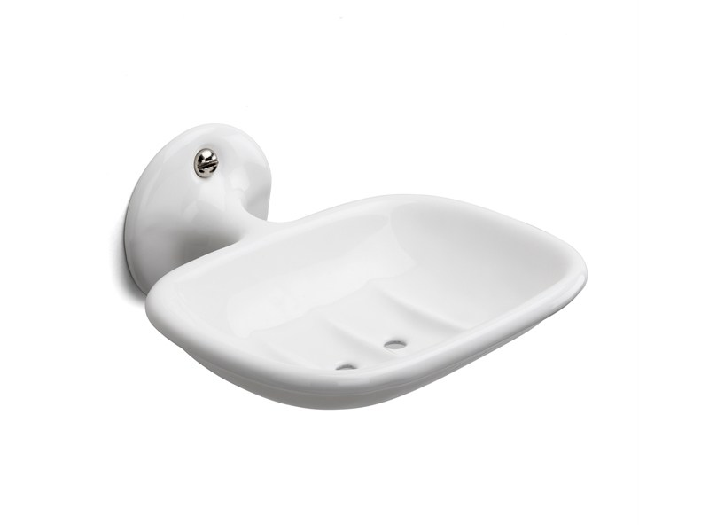 Wall-mounted cast iron soap dish 100011 | Wall-mounted soap dish by THPG