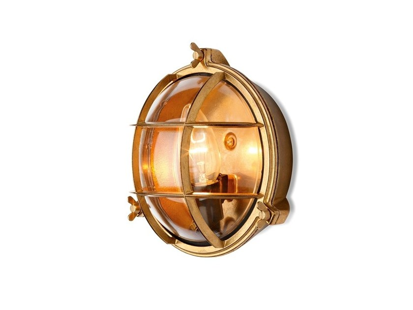 Chromed brass Wall Lamp 100017 | Screen light small IP 55 chrome by THPG