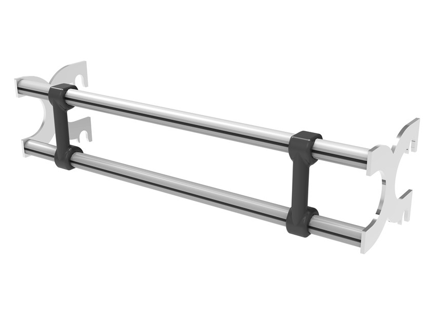 Double wallbar for One Infinity One DOUBLE WALLBAR by REAXING
