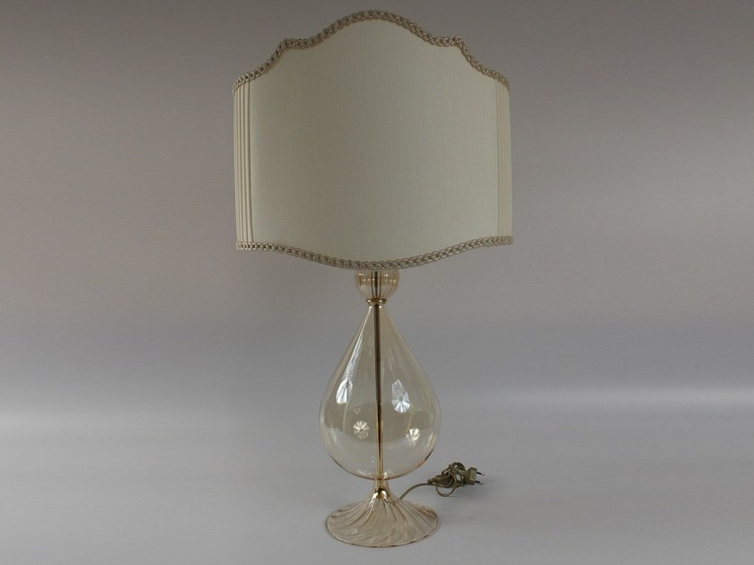 Handmade blown glass table lamp 1003 | Blown glass table lamp by Ipsilon PARALUMI