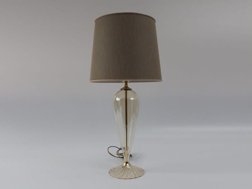 Handmade blown glass table lamp 1005 | Blown glass table lamp by Ipsilon PARALUMI