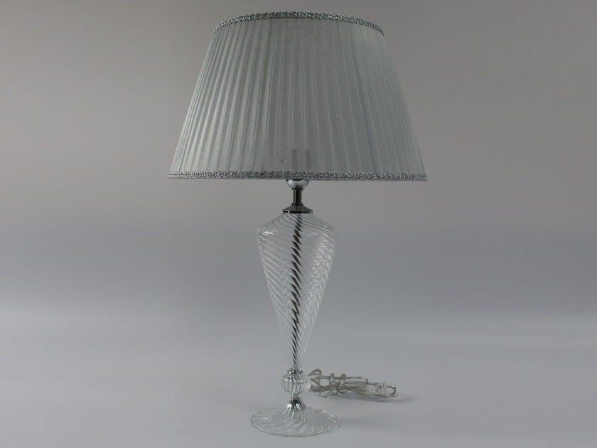 Handmade blown glass table lamp 1006 | Blown glass table lamp by Ipsilon PARALUMI