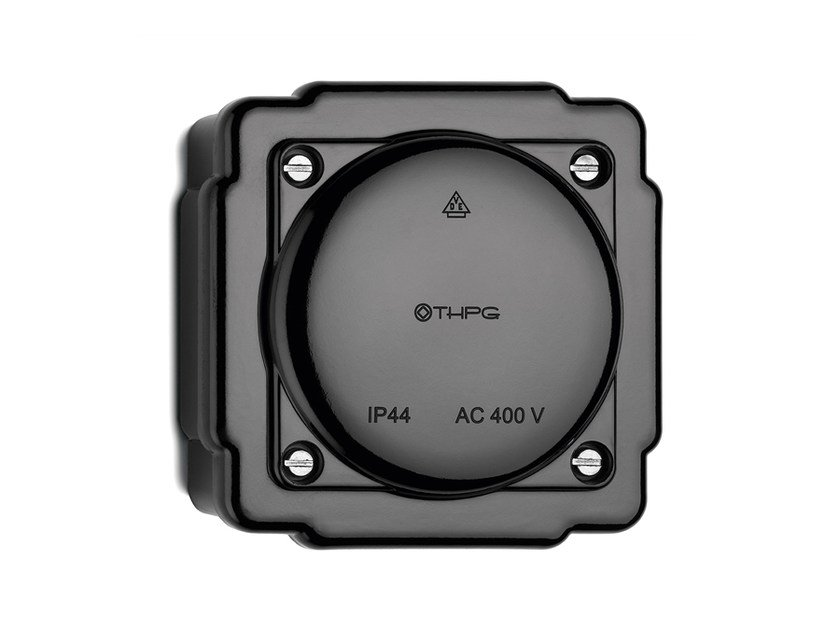 Bakelite junction box black 100922 by THPG