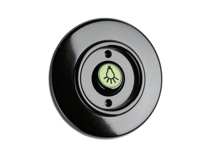 Rocker button light Bakelite with illuminated compensator 100974 by THPG