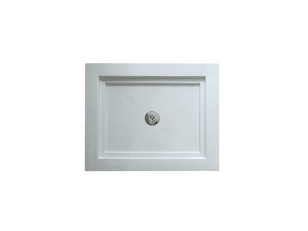 Anti-slip rectangular shower tray 100X80 | Shower tray by GALASSIA