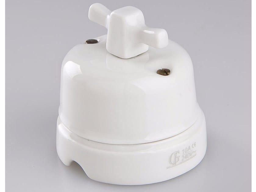 Electrical socket WHITE ITALY - 11 by GI Gambarelli