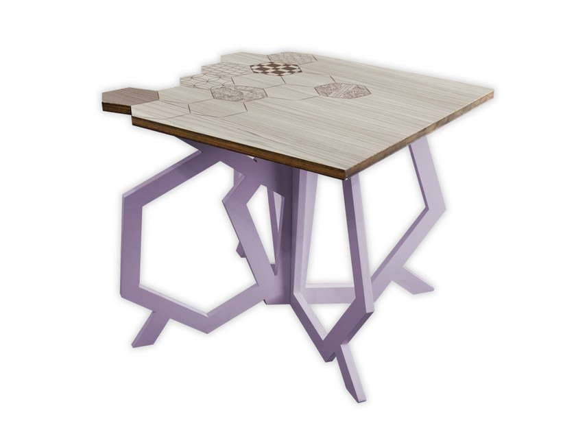 Low square MDF coffee table MG-316 | Coffee table by LAS