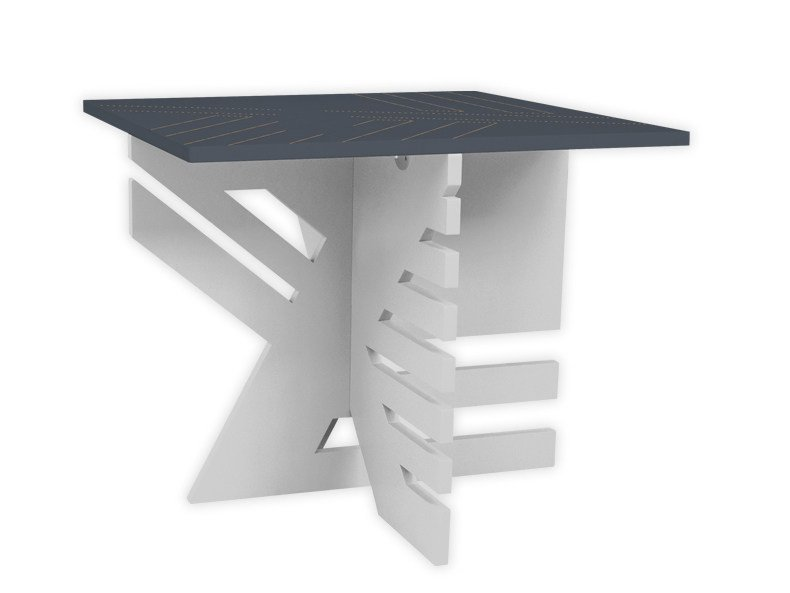 Low square MDF coffee table SI-363 | Coffee table by LAS