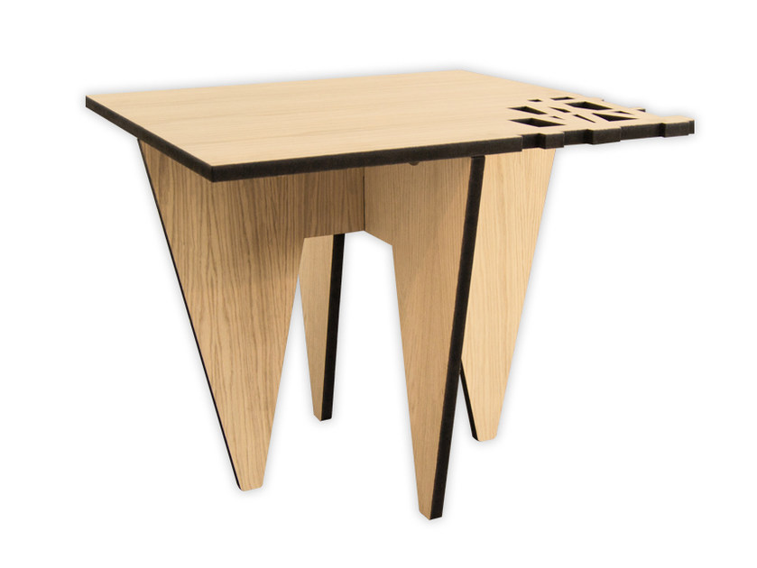 Low rectangular MDF coffee table W-391 | Coffee table by LAS