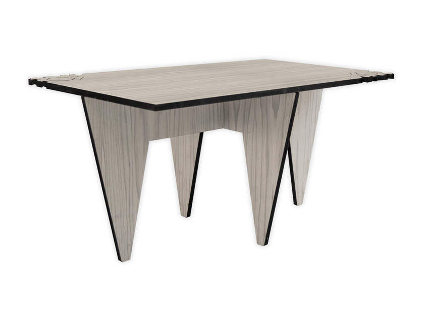 Low rectangular MDF coffee table G-412 | Coffee table by LAS