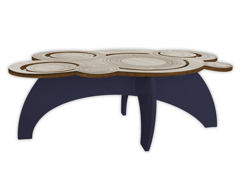 Low MDF coffee table MG-283 | Coffee table by LAS