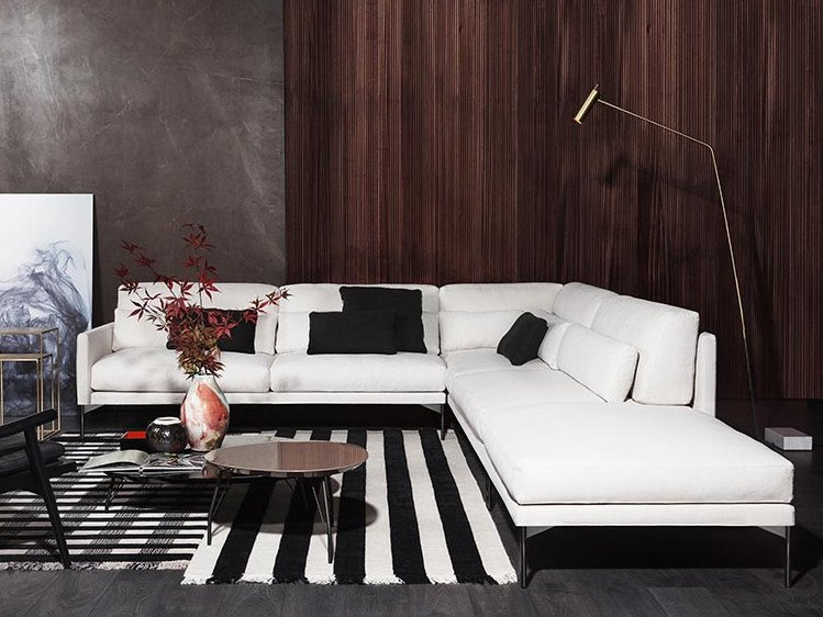 110 Modern Corner Sofa E Spirit Collection By Vibieffe Design