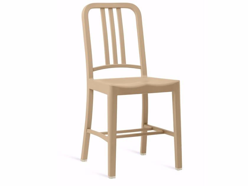 Sedia in plastica riciclata 111 NAVY® By Emeco