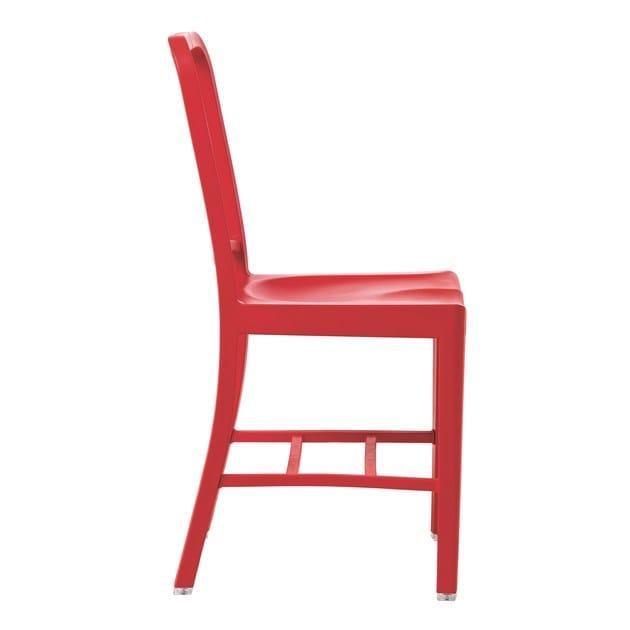 Sedia in plastica riciclata 111 NAVY® | Sedia - Emeco
