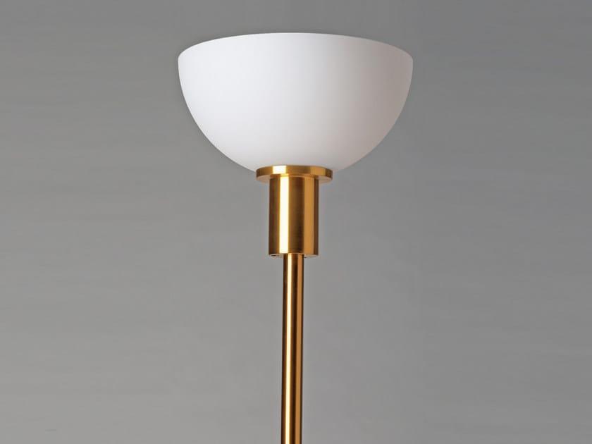 Direct light handmade floor lamp 111 | Floor lamp by Jean Perzel