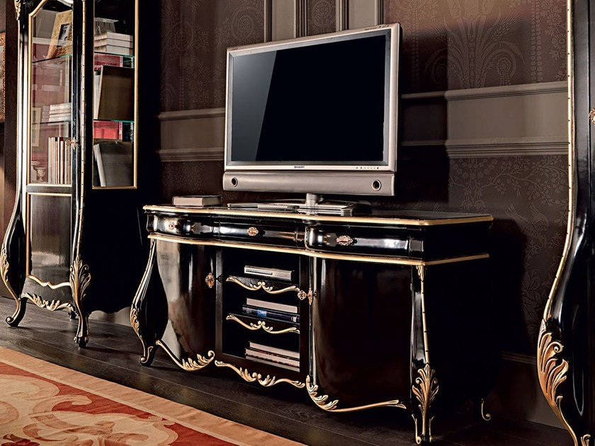 Solid wood TV cabinet 11110 | TV cabinet by Modenese Gastone