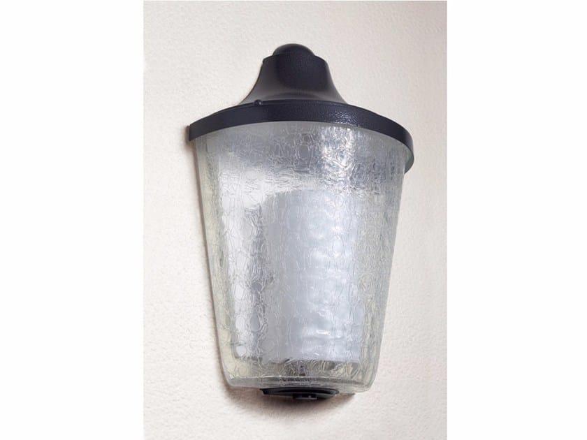 Applique a luce diretta in vetro 1119 | Applique by Jean Perzel