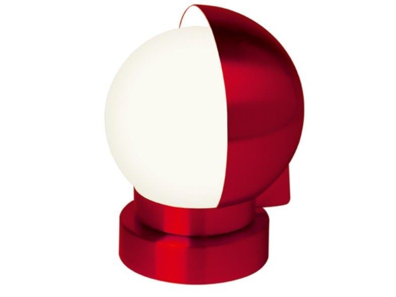 Direct light swivel adjustable metal table lamp 1143L ROU | Table lamp by Jean Perzel