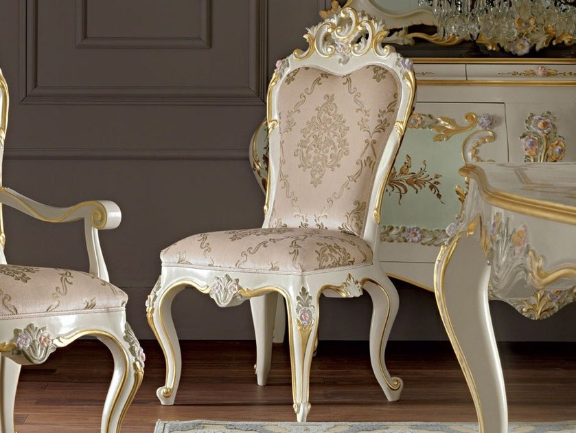 Upholstered fabric chair 11504 | Chair by Modenese Gastone