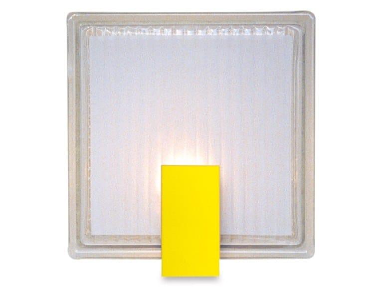 Direct light handmade wall light 1151 JAU | Wall light by Jean Perzel