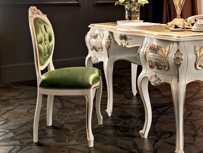 Upholstered fabric chair 11517   Chair by Modenese Gastone