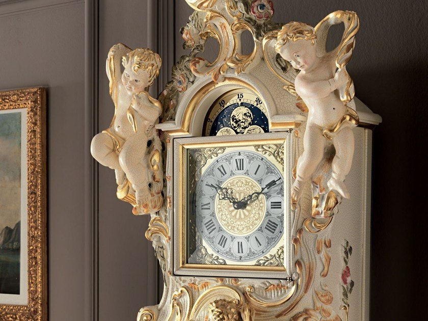 Pendulum solid wood clock 11603 | Pendulum clock by Modenese Gastone
