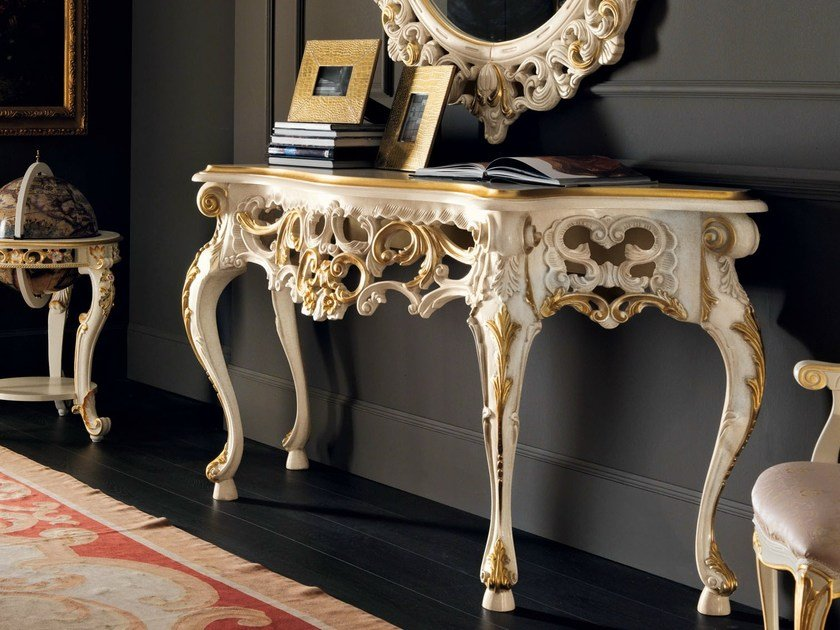 Solid wood console table 11605 | Console table by Modenese Gastone