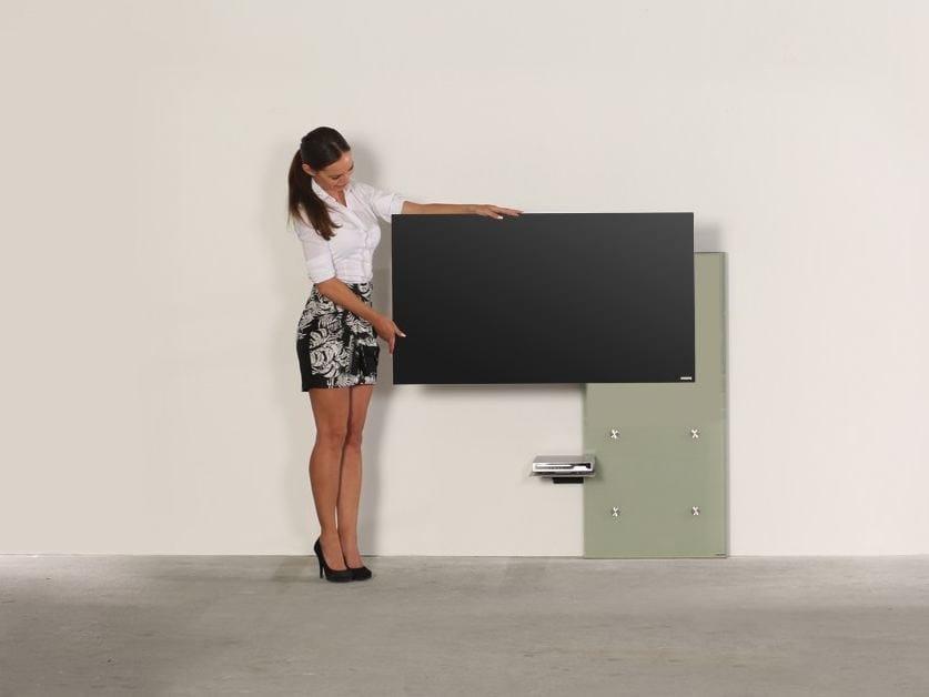 Wissmann Raumobjekte Porta Tv Girevole.Supporto Per Monitor Tv Plate Art117 Supporto Per Monitor Tv