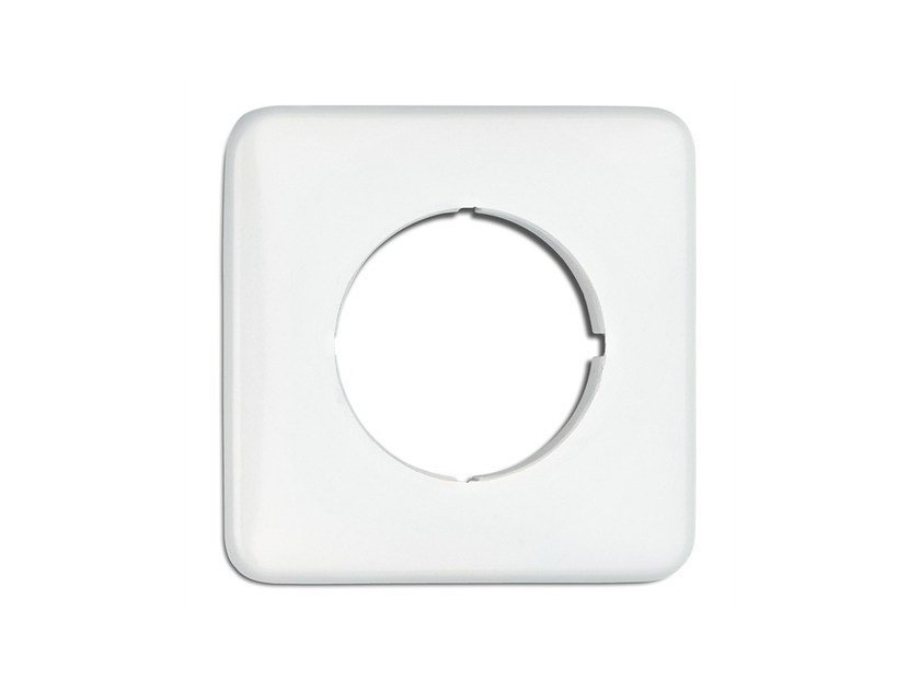 Plastic wall plate 119330 | Square single covering by THPG